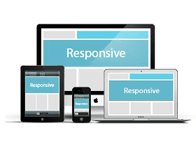 websites with responsive design